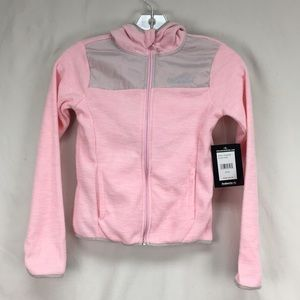 NWT Avalanche Pink Girls Hooded Zip Up Jacket Sz S